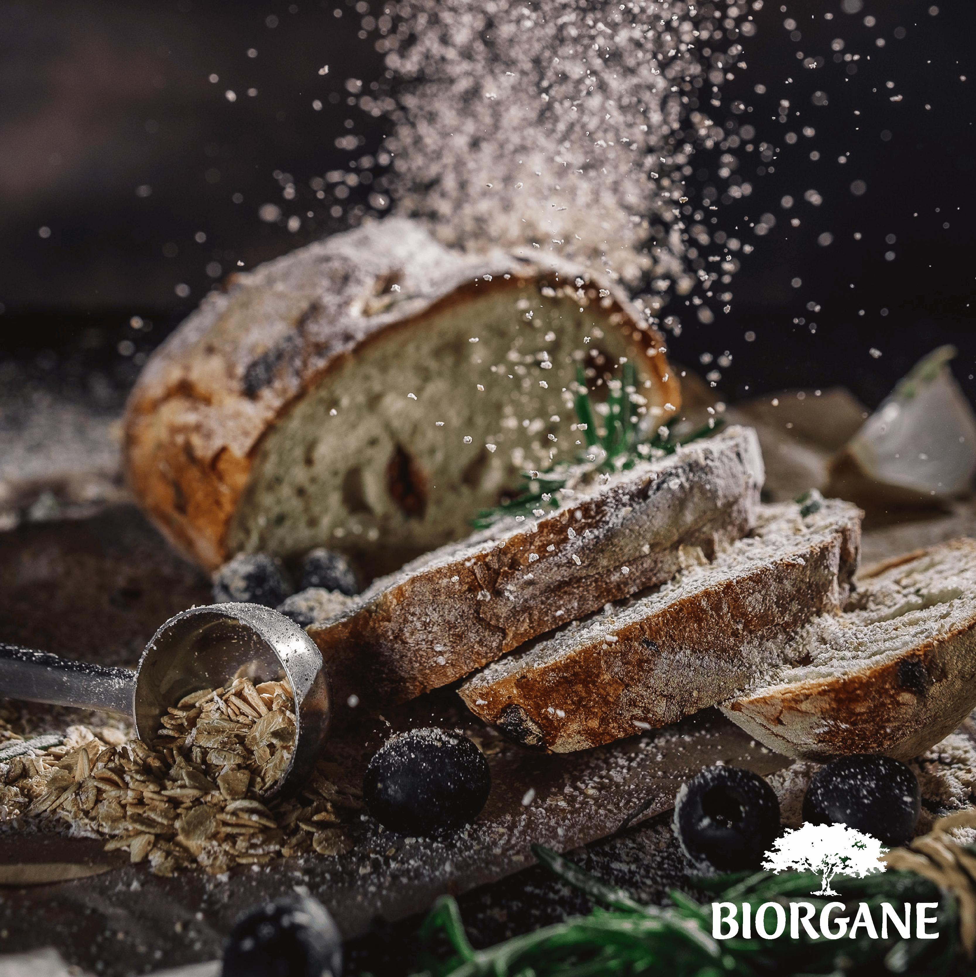 Recette pain aux olives par Biorgane